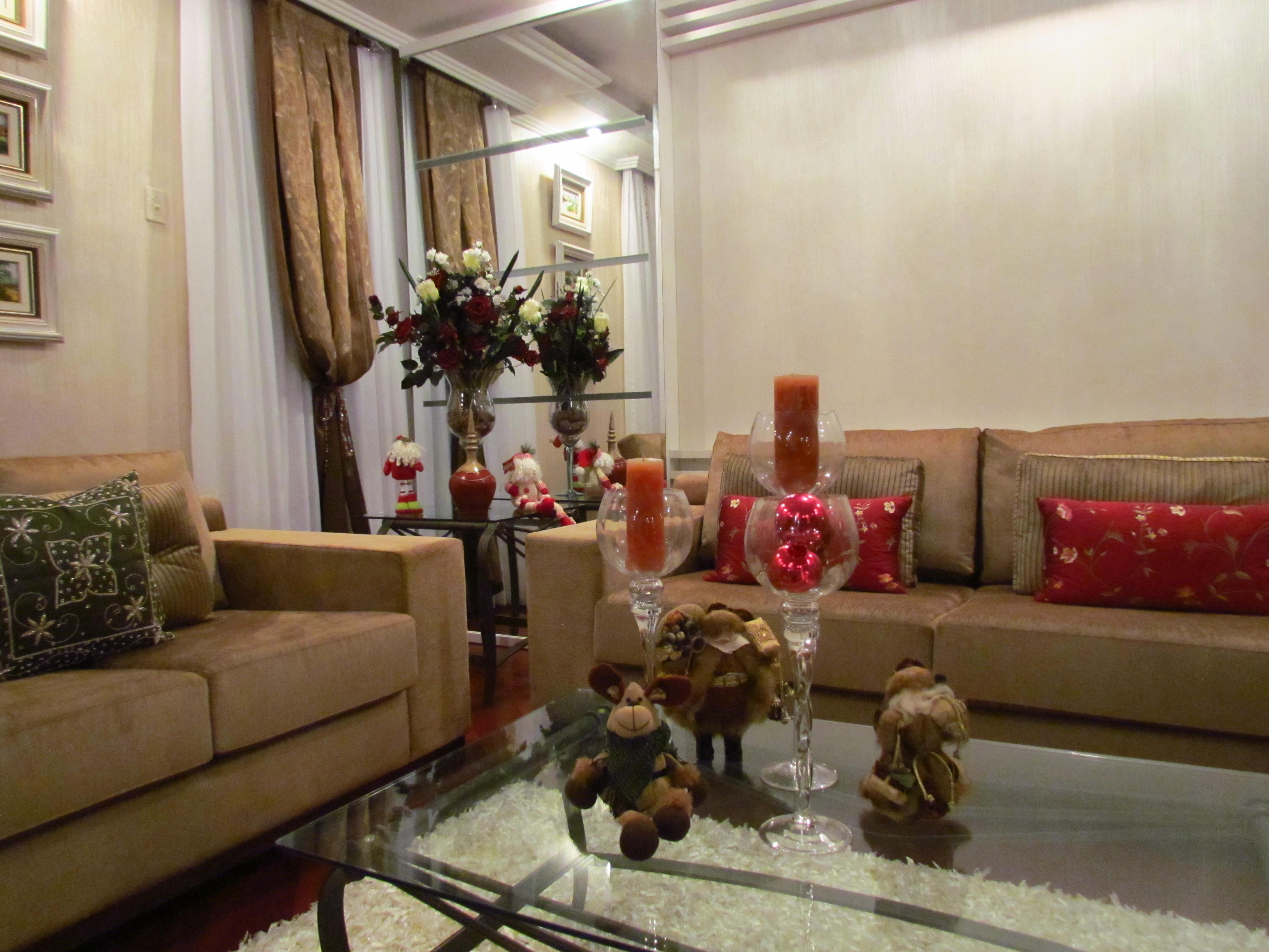 decoracao de sala natal : decoracao de sala natal:Decoração sala de estar Natal O Pimenteiro