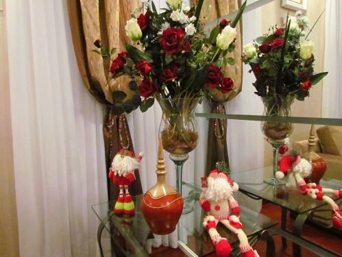 recipiente de vidro flores O Pimenteiro